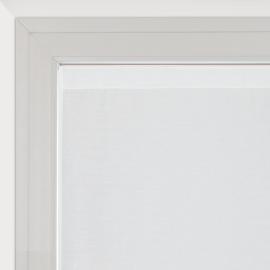Tendina a vetro per finestra Penelope bianco 60 x 150 cm