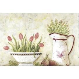 Quadro in legno Tulipano 20,5x30,5