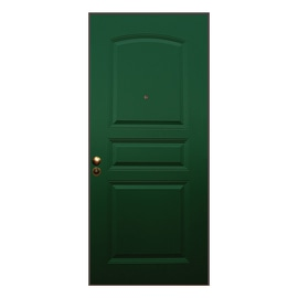 Porta blindata Aluminium verde L 80 x H 210 cm sx