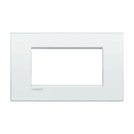 Placca 4 moduli BTicino Livinglight Air bianco