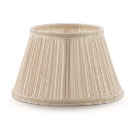 Paralume per lampada da tavolo personalizzabile Impero plissè avorio