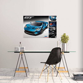 Poster Ford GT 2016 91,5 x 61 cm