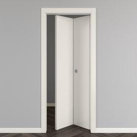 Porta da interno pieghevole Strauss 80 x H 210 cm reversibile