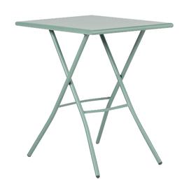 Tavolo pieghevole Gaia, 50 x 70 cm verde