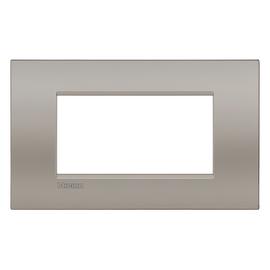 Placca 4 moduli BTicino Livinglight Air Sabbia