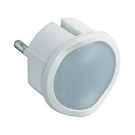 Adattatore Luce emergenza semplice schuko, BTicino bianco