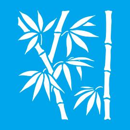 Stencil Bambù