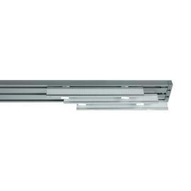 Binario pannello singolo 3 vie Cruiser alluminio 170 cm