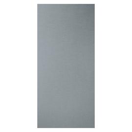 Tenda a lamelle verticali tinta unita grigio H 260 cm