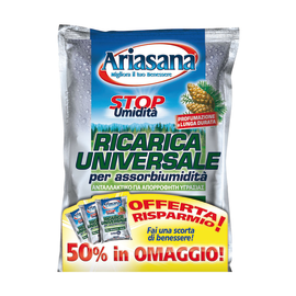Assorbiumidità Ariasana ricarica universale pino 450 g
