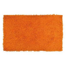 Tappeto bagno Bouclettes arancione