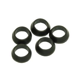 10 guarnizioni coniche in gomma, Ø 18 mm