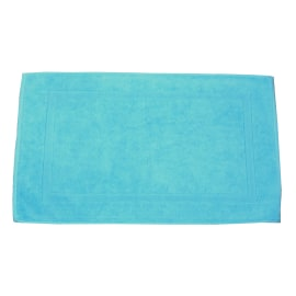 Tappeto bagno Eponge azzurro
