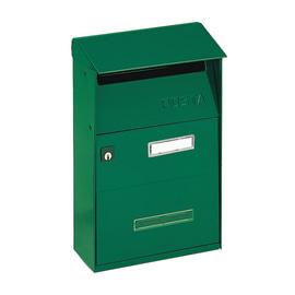 Cassetta postale FT verde, formato lettera, L 22 x H 32,5 x P  11 cm