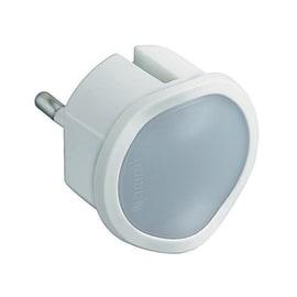 Adattatore Luce crepuscolare con dimmer semplice schuko, BTicino bianco