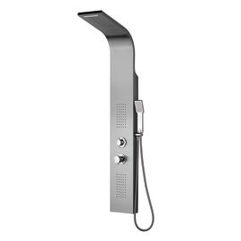 Pannello doccia Icone2 con miscelatore manuale