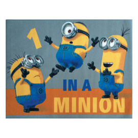 Tappeto In a Minion multicolore 95 x 133 cm