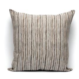 Fodera per cuscino Raya marrone 60 x 60 cm