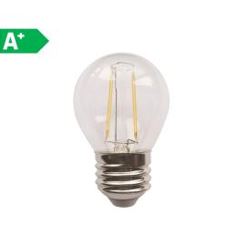 Lampadina LED Lexman Filamento E27 =25W sfera luce calda 360°