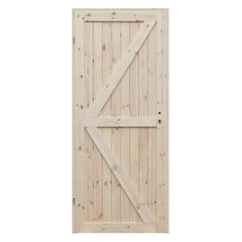 Porta da interno battente Loft 60 x H 210 cm reversibile