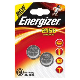 Pila a bottone al litio CR2450 Energizer