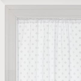 Tendina a vetro per finestra Elsa bianco 60 x 150 cm