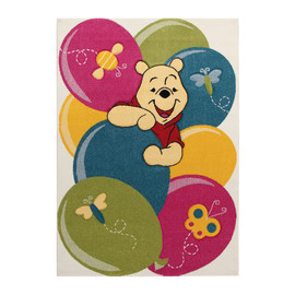 Tappeto Winnie party premium multicolore 133 x 190 cm