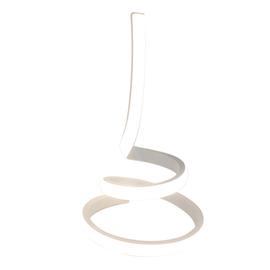 Lampada da tavolo Adelaide bianco LED integrato