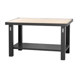 Banco da lavoro Fisso con piano legno, L150 x H85 x P70 cm