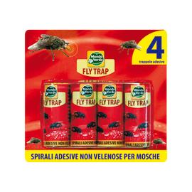 Trappola adesiva Fly Trap Mondo Verde 4 pezzi