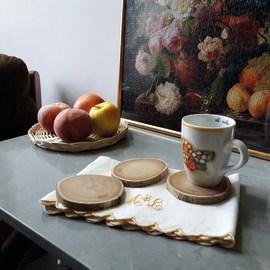 Rondella legno Ø 8-12 cm grezzo