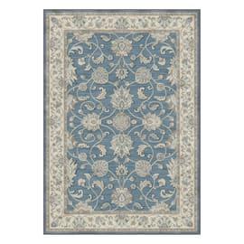 Tappeto Farashe grigio azz. azzurro 160 x 230 cm