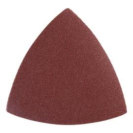 10 fogli abrasivi con velcro, grana 40, 80, 120