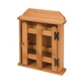 Bacheca porta chiavi 6 posti ciliegio 21,5 x 5,5 x 29 cm