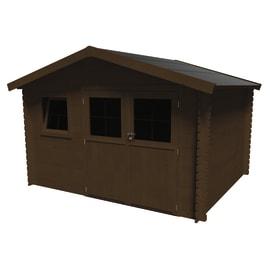 casetta in legno Azalea 9,05 m², spessore 28 mm