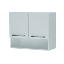 Pensile Lavatrice bianco 2 ante L 75 x H 104 x P 35 cm
