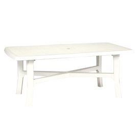 Tavolo Senna, 180 x 100 cm bianco