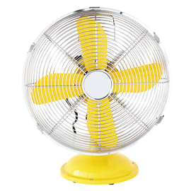Ventilatore da tavolo Equation Mini Cooma giallo