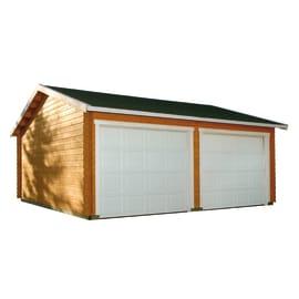 Garage in legno grezzo Koski, 39,23 m²