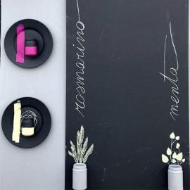 Pittura Effetto lavagna Fleur nero 0.75 L