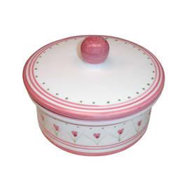 Porta cotone Decoro 198/r rosa