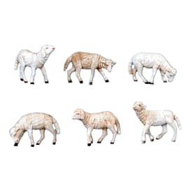 Gregge pecore H 10 cm