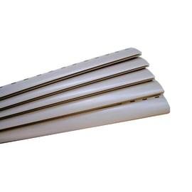 Kit di aste 123 x 25 cm grigio