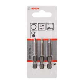 Inserti esagonale con foro 3 Bosch