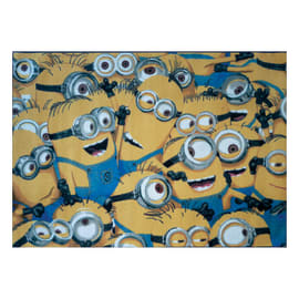 Tappeto Minions multicolore 95 x 133 cm