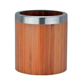 Porta posate e mestoli naturale H 13 cm