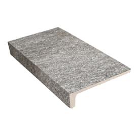 Gradino Serizzo grigio 15 x 30 cm