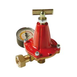 Regolatore alta pressione con taratura variabile ch25 0-4 bar, 12/14 Kg/h, con manometro