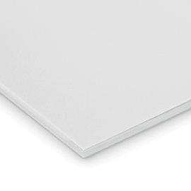 Lastra gomma crepla bianco 29,7 x 21  mm, spessore 10 mm