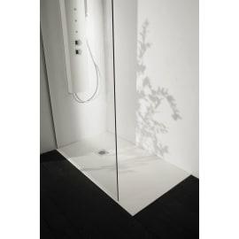 Piatto doccia resina Liso 90 x 70 cm bianco